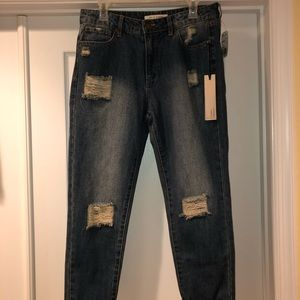 Forever 21 Life in Progress Boyfriend Jeans